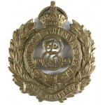 Royal Engineers EDV11R Brass Cap Badge