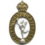 Royal Corps Of Signals Bi Metal Cap Badge