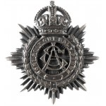 Army Service Corps Officers Bronze Cap Badge