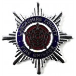 Lancashire County Fire Brigade Chrome/Enamel