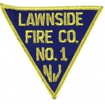 U.S. Lawnside Fire Co. N.J. Cloth Patch