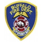 U.S. Buffalo Fire Dept. Cloth Patch