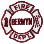 U.S. Berwyn Fire Dept. Cloth Patch