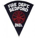 U.S. Bedford Fire Dept. Ind. Cloth Patch