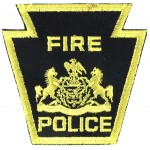 U.S. Fire Police Cloth Patch