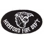 U.S. Hereford Fire Dept. Cloth Patch
