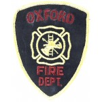 U.S. Oxford Fire Dept. Cloth Patch