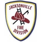U.S. Jacksonville Fire Division Cloth Patch