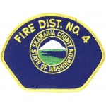 U.S. Skamania County Fire Dist. No. 4 Cloth Patch
