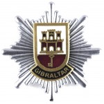 Gibraltar Fire Brigade Cap Badge