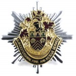 Gloucestershire Fire And Rescue Service Cap Badge