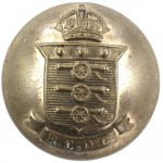 Royal Canadian Ordnance Corps Brass Button 26mm