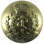 Royal Canadian Army Medical Corps Or`s Button 25.5mm
