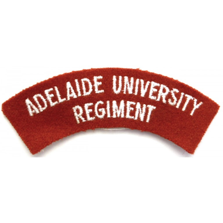Australia Adelaide University Regiment