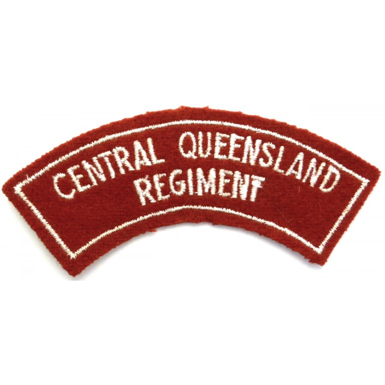 Australia Central Queensland Regiment
