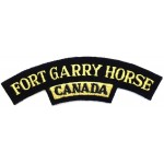 Canada Fort Garry Horse Cloth Shoulder Title