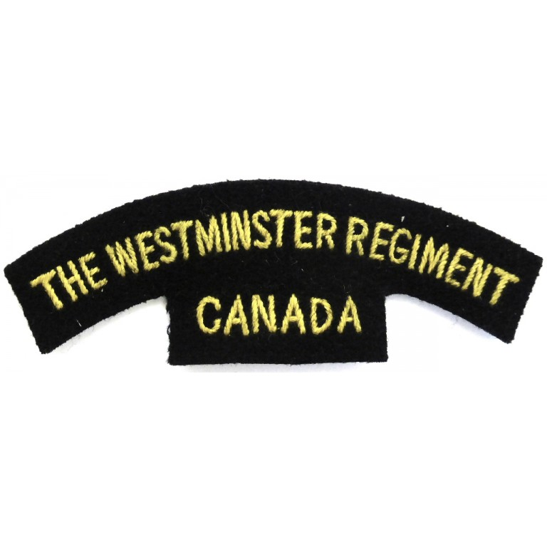 Canada The Westminster Regiment
