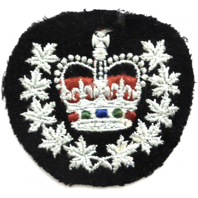 Canadian Air Force Warrant Officer Arm Badge