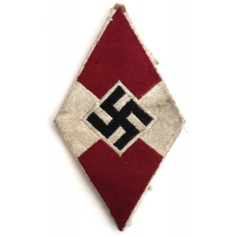 Genuine Hitler Youth Shirt Patch