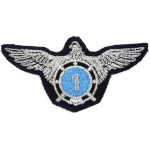 Ukraine Air Force Engineer 1 Military Aircrew Badge