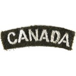 Canada Army Cloth Shoulder Title