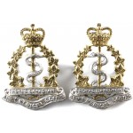 Royal Canadian Army Medical Corps E11R Sil/Gilt Pair