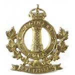 Canada Le Regiment De Hull Brass Collar Badge