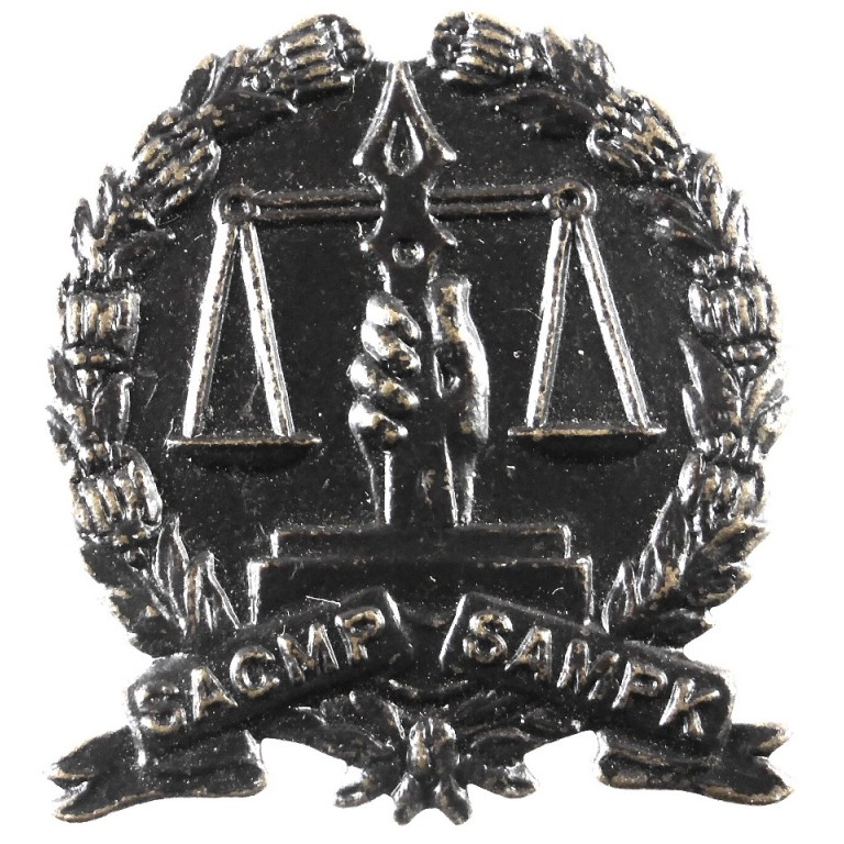 South Africa Corps Of Military Police Bronze
