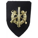 Latvia Staff Battalion Brass Collar Badge