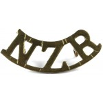 New Zealand Regiment Brass Title