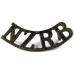 New Zealand Rifle Brigade Brass Title