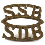 South Africa Special Service Battalion Brass Title