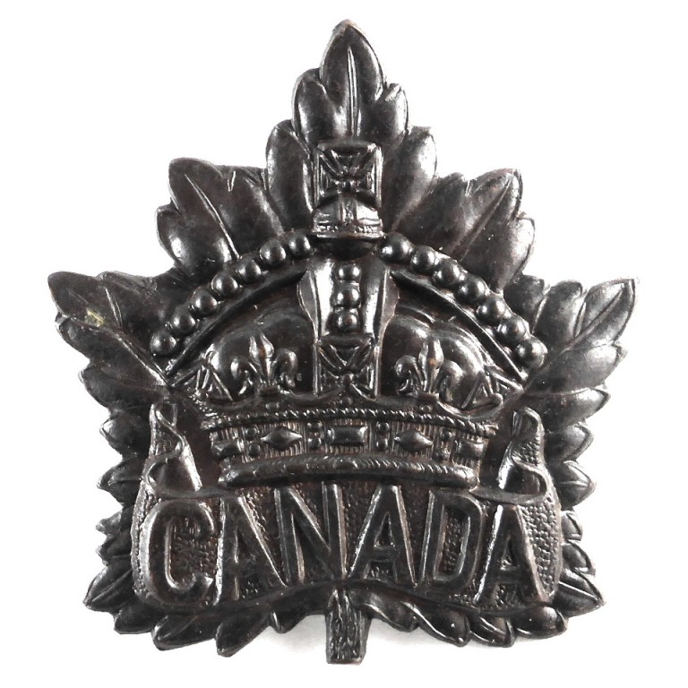 Canada WW1 General Service Bronze Cap Badge