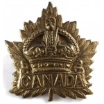 Canada WW1 General Service Brass Cap Badge