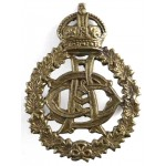 Canadian Army Dental Corps Brass Cap Badge