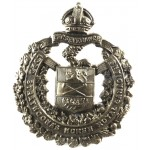 Canada Lord Strathconnas Horse Brass Cap Badge
