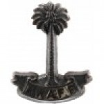 Royal West African Frontier Force WW2 Bakelite Cap Badge