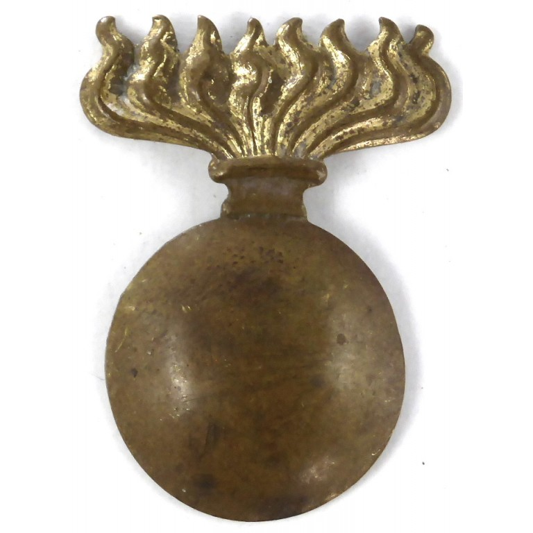 Belgium Army Mortar Company Brass Beret Badge