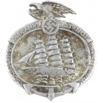 German Navigation Donation Badge 1935