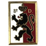 France 8th Division Enamel Badge