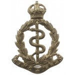 South Africa Medical Corps Brass Cap Badge