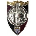 France 5th Engineer Regiment Enamel Breast Badge