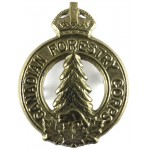 Canadian Forestry Corps Pre 1953 Brass Cap Badge