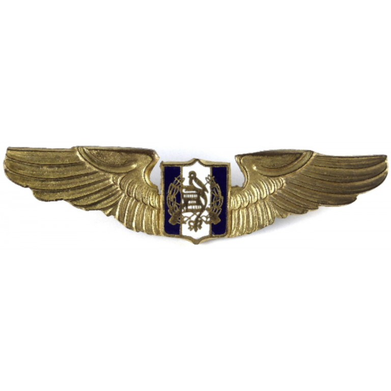 Guatemala Pilot Military Aircrew Wing Badge