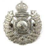 Canada Royal Winnipeg Rifles White Metal Cap Badge