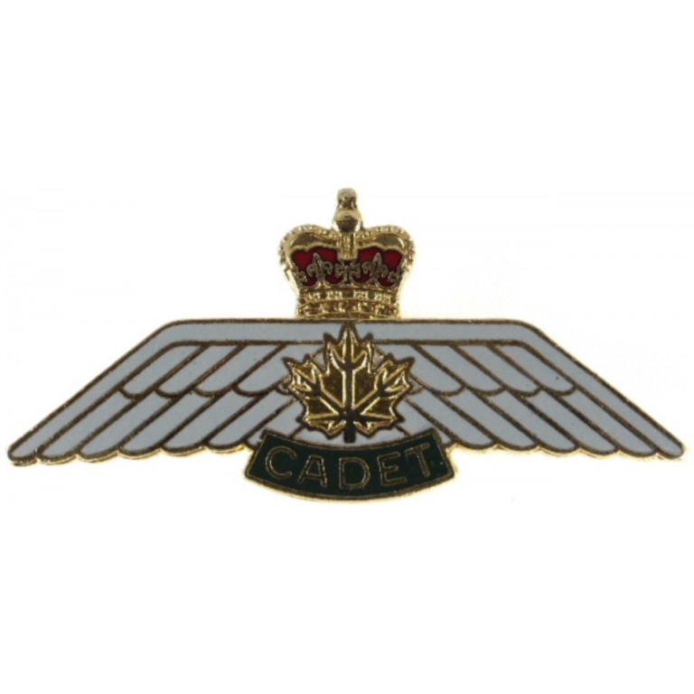 Canada Cadet Pilot Military Aircrew Badge