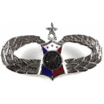 Philippine Air Force Senior Weapons Controller Breast Badge