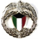 Kuwait National Guard Anodised Cap Badge