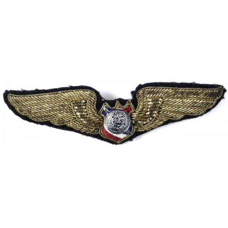 Thailand Air Force Pilot Military Aircrew Wing Badge