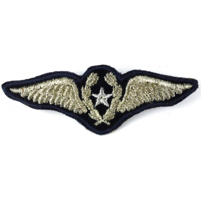 Chile Pilot Synthetic Wire Military Aircrew Wing Badge